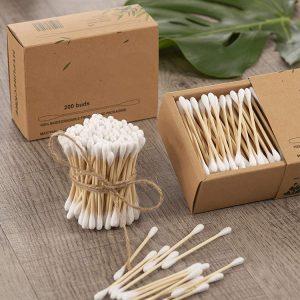 bambusz fültisztító pálcika