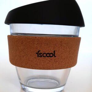 Hordozható kávéspohár, fekete
