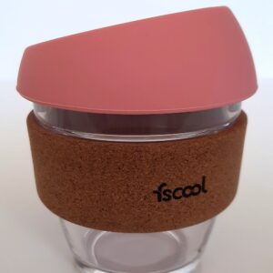 Hordozható kávéspohár, rózsaszín