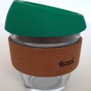 Hordozható kávéspohár, türkiz