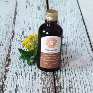 Napvirág Kényeztető hajpakolás organikus avokádó és sárgabarackmag-olajjal 50ml