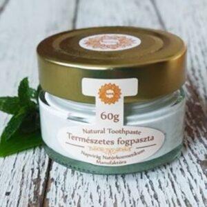 Napvirág Természetes fogkrém, organikus citrom fehéj illóolajjal, kamillakivonattal, 60g