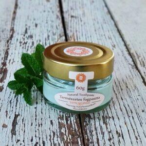 Napvirág Természetes fogkrém, organikus menta illóolajjal, 60g