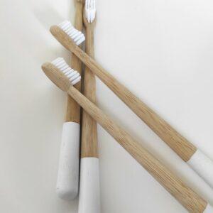 családi bambusz fogkefe szett