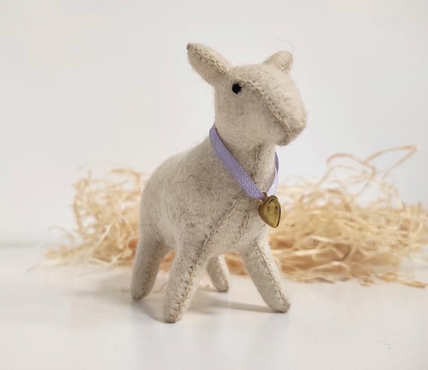 Gyapjúfilc bárány